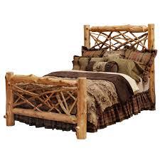 rustic bedroom furniture log beds and hickory beds black forest dcor bedroom furniture makeover image14