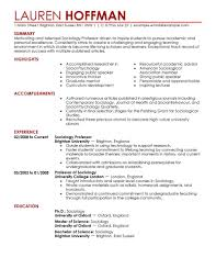 simple education resume examples livecareer professor resume example