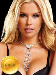 <b>Галстук из кристаллов Ann</b> Devine Sexy Rhinestone Tie ...