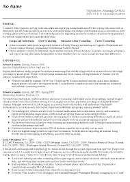school counselor resume  sample educator resumesrelated free resume examples