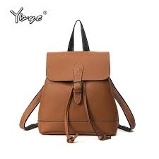 <b>YBYT</b> Brand 2017 New <b>Vintage</b> Casual <b>Women</b> PU Leather ...