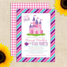 comely princess party invitations ideas features party dress tea party invitations handmade tea party invitations make your own