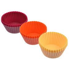 <b>Набор форм для выпечки</b> VETTA Кекс, 16 шт, 6.5x3,3 см, силикон ...