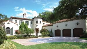 Spanish Home Plans   Spanish Style Home Designs from HomePlans com Bedroom Spanish Home Plan HOMEPW