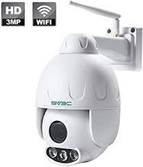 3MP HD Outdoor PTZ WiFi Security Camera, SV3C ... - Amazon.com