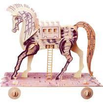 <b>Конструктор Wooden Toys</b> Троянский конь купить с доставкой по ...