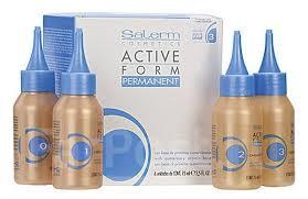 <b>Состав для натуральных</b> волос Active Form 1 химическая завивка ...
