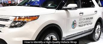 How to Identify a <b>High</b>-<b>Quality Vehicle Wrap</b> | Divine Signs & Graphics