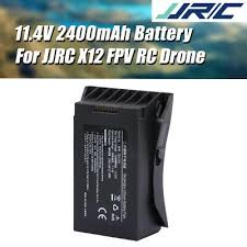 Original JJRC 11.4V 2400mAh LiPo Battery for <b>JJRC X12</b> FPV RC ...