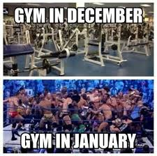 Brace yourselves. The New Years resolutioners are coming ... | gym ... via Relatably.com