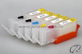 Перезаправляемые картриджи (ПЗК) для <b>Canon PIXMA TR8540</b>