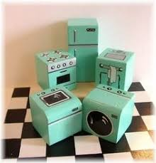 painted blocks for dollhouse furniture building doll furniture