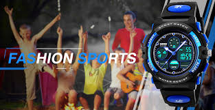 Kids <b>Digital Sport</b> Watch, Boys Girls Waterproof <b>Sports Outdoor</b> ...