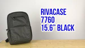 Распаковка <b>RIVACASE 7760 15.6</b> Black - YouTube