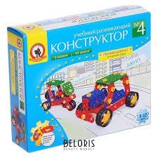 <b>Конструктор</b> «Учебный № 4» 2 модели, 92 детали (<b>Русский</b> ...