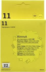 <b>Картридж T2 ic</b>-<b>h4838</b> Желтый (Yellow) — купить в городе ...