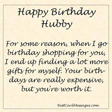 Funny Birthday Message for your Husband. #birthday #wishes ... via Relatably.com