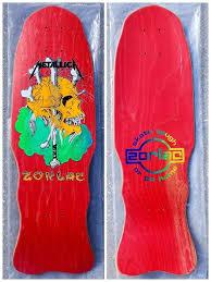 NOS Zorlac Metallica Mini <b>Skull & Bones</b>. | Vintage <b>skateboards</b> ...