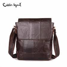 Cobbler Legend 2019 New Arrival <b>Cow Leather Men</b> Bag Genuine ...