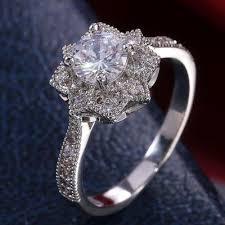 Fashion Unisex <b>Simple Geometric</b> Yellow Gold Rings Wedding ...