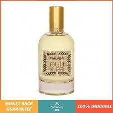 authentic <b>enricogi oud intense</b> 100 ml eau de parfum for unisex