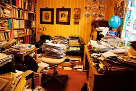 Image result for cluttered desk