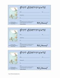 spa gift certificate wordtemplates net spa gift certificate