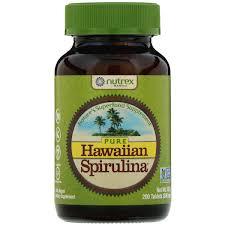 Спирулина Nutrex Hawaii, <b>Pure Hawaiian Spirulina</b>, <b>500 мг</b>, 200 ...
