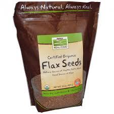 ROZETKA   Семя льна NOW Foods, <b>Real Food</b>, Certified Organic ...