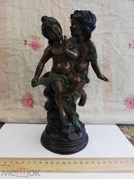 «Бронзовая <b>статуэтка</b> &quot; <b>Всадник</b> с рожком&quot;. Франция ...