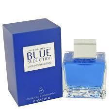 <b>Antonio Banderas Blue</b> Seduction Eau De Toilette Spray for Men 3.4 ...