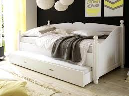 bedroomhandsome black wall round hang lamp girls day bed bedding white frame and mattress on the building frame day bed