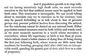 our population essay john holdren and harrison brown and if population growth is to stop without our having excessively