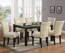 Genuine Leather Dining Room Chairs 639 Child Size Rectangular Table Kiddietable