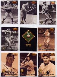 captkirks trading cards blog  125 ty cobb the peach 128 tris speaker the grey eagle 129 johnny mize the big cat 130 ted s greatest hitters checklist 141 roy campanella