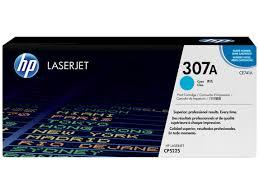 HP 307A, Оригинальный лазерный <b>картридж HP</b> LaserJet, Голубой