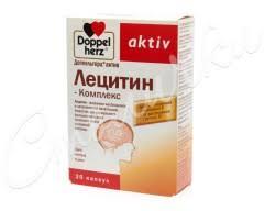 Доппельгерц <b>актив Лецитин комплекс</b> капсулы №<b>30</b> купить в ...