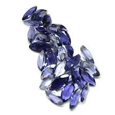 Buy CaratYogi Certified Natural Iolite Gemstone Total <b>25</b> Carat <b>25</b> ...