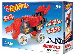 <b>Конструктор</b> Bauer <b>Hot Wheels</b> 713 Musculz Drago — купить по ...