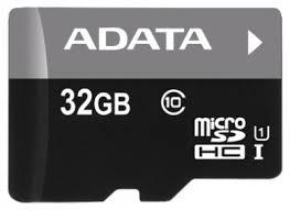 <b>Карта памяти ADATA</b> Premier microSDHC 32GB UHS-I + SD ...