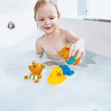 Игрушка для купания Пловец Тедди, <b>заводная игрушка</b> HAPE ...