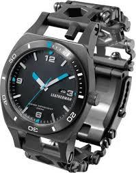 """<b>Часы</b>-мультитул <b>Leatherman</b> """"<b>Tread Tempo</b>"""", цвет: черный ..."""
