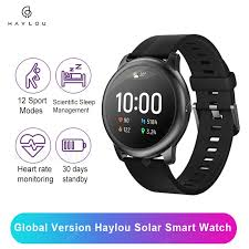 <b>New 2020 Haylou Solar</b> Smart Watch 12 Sports Modes Global ...