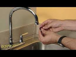 How to Unclog a <b>Faucet Aerator</b> For Dummies - YouTube