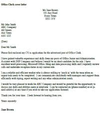 office clerk cover letter example icover org uk account clerk cover letter