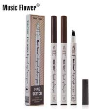 <b>Music Flower</b> Makeup Fine Sketch Liquid Eyebrow Pen Waterproof ...