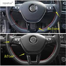 <b>Lapetus Accessories Fit For</b> T Roc T Roc 2018 2019 ABS Steering ...