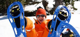Resultado de imagen de niños raquetas de nieve