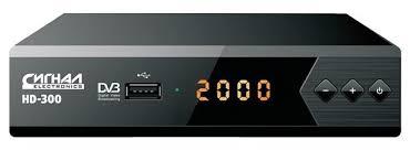 <b>Цифровой тюнер СИГНАЛ HD</b>-<b>300</b> купить по цене 890 руб. в ...
