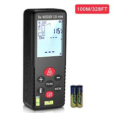 <b>Laser</b> Measure, 328ft/100m <b>Mini Laser</b> Tape Measurer with 2 Level ...